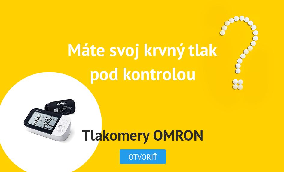 Tlakomery OMRON