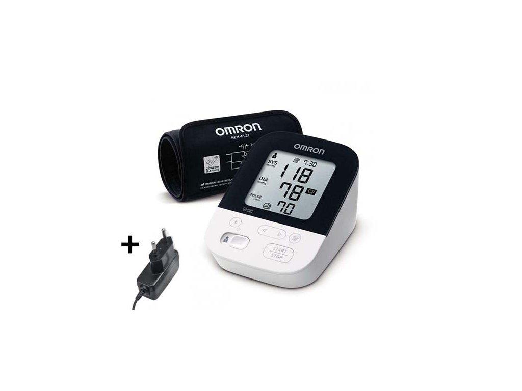 Tlakomer OMRON M4 Itelli IT+adapter