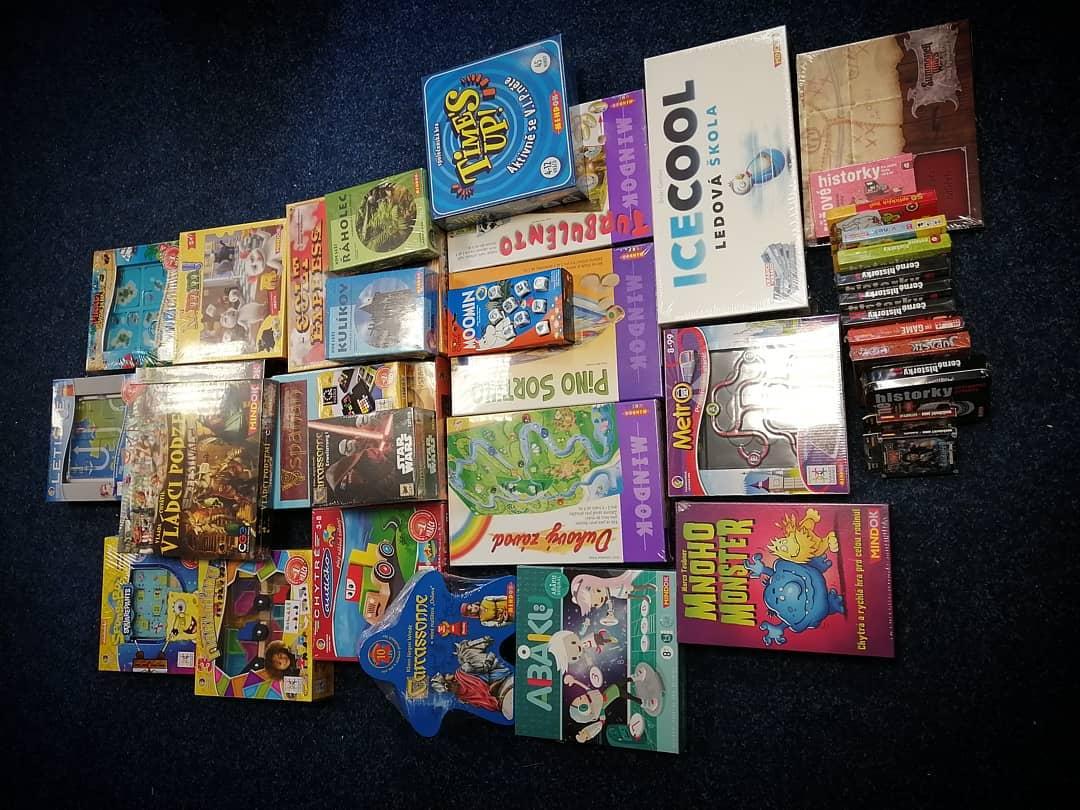 vyprodané hry Mindoku skladem na prodejně