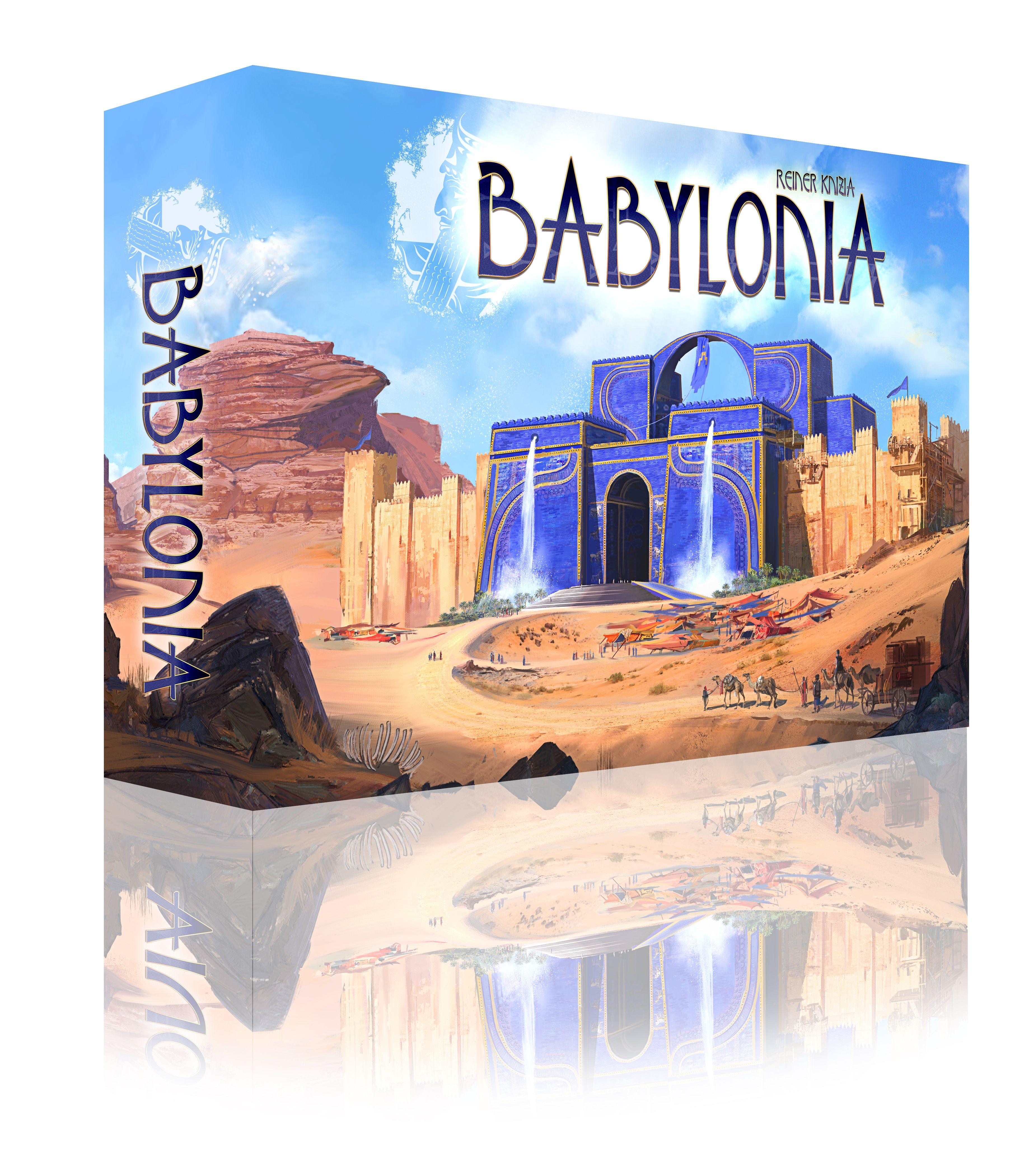 Babylonia - abstraktní strategická hra - vyjde česky v únoru