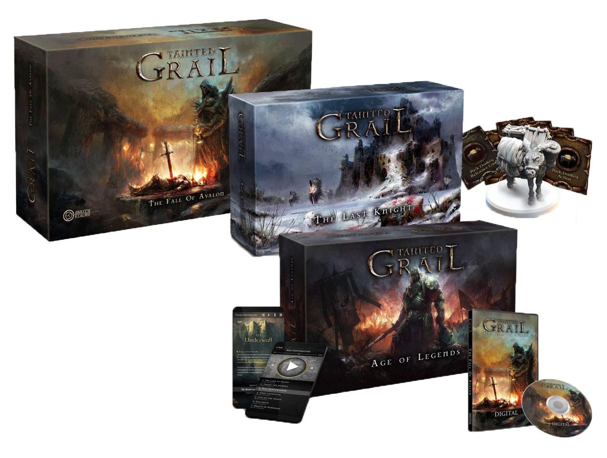Tainted Grail Kickstarter verze a rozšíření