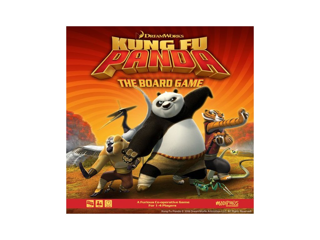Kung Fu Panda - The Boardgame