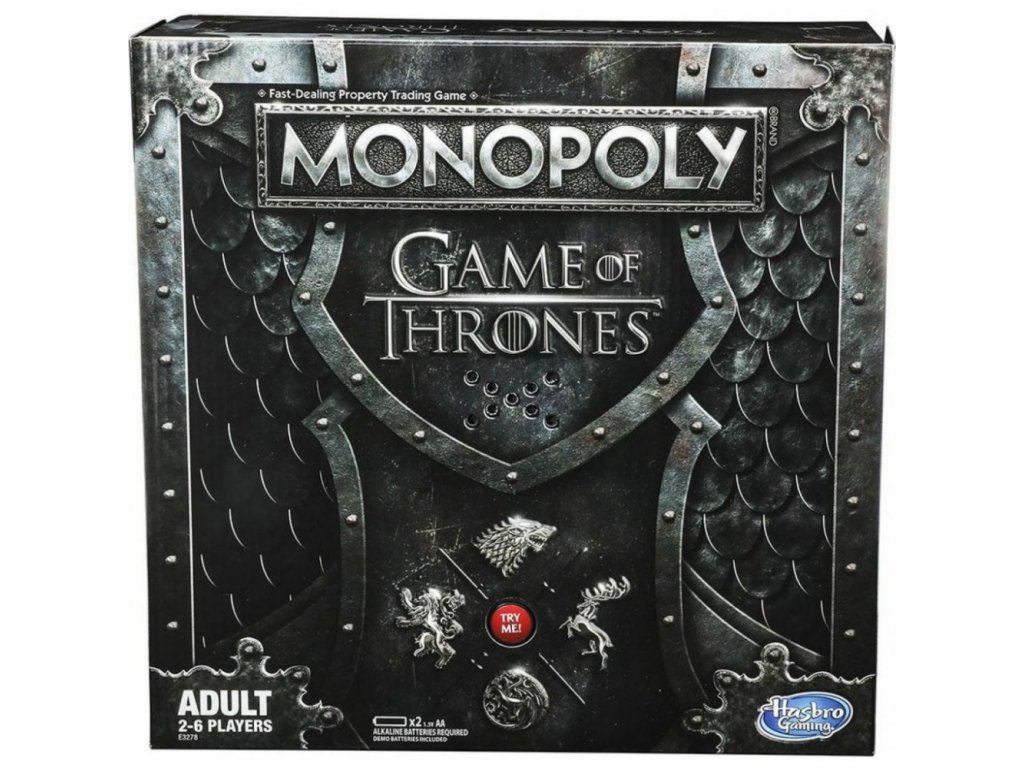 Monopoly Game Of Thrones Tlama Games