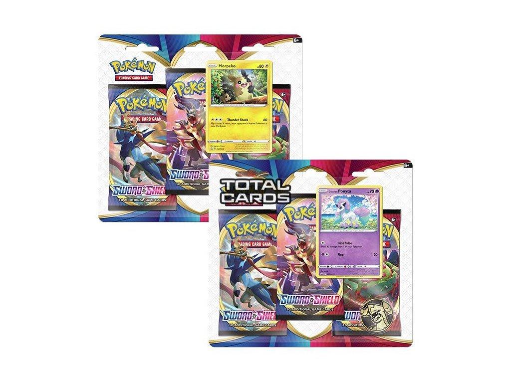 Pokémon: Sword & Shield - 3 Pack Blister