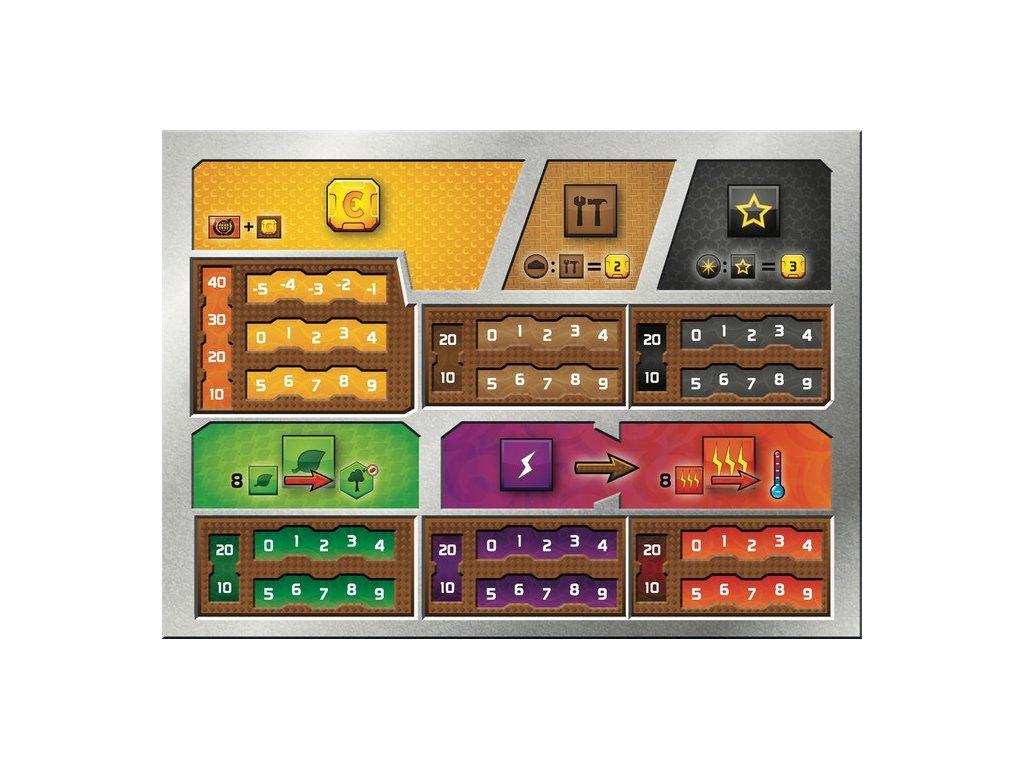 7707 Mars Teraformace Player Boards Obalka