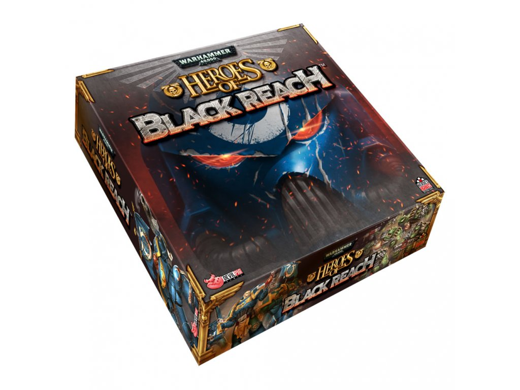 warhammer 40k heroes of black reach core starter box devilpig games