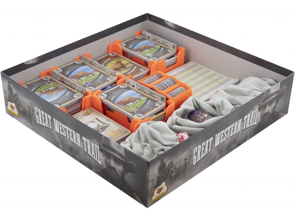 Feldherr 59784 Feldherr Organizer fuer Great Western Trail Brettspielbox 59784[1]