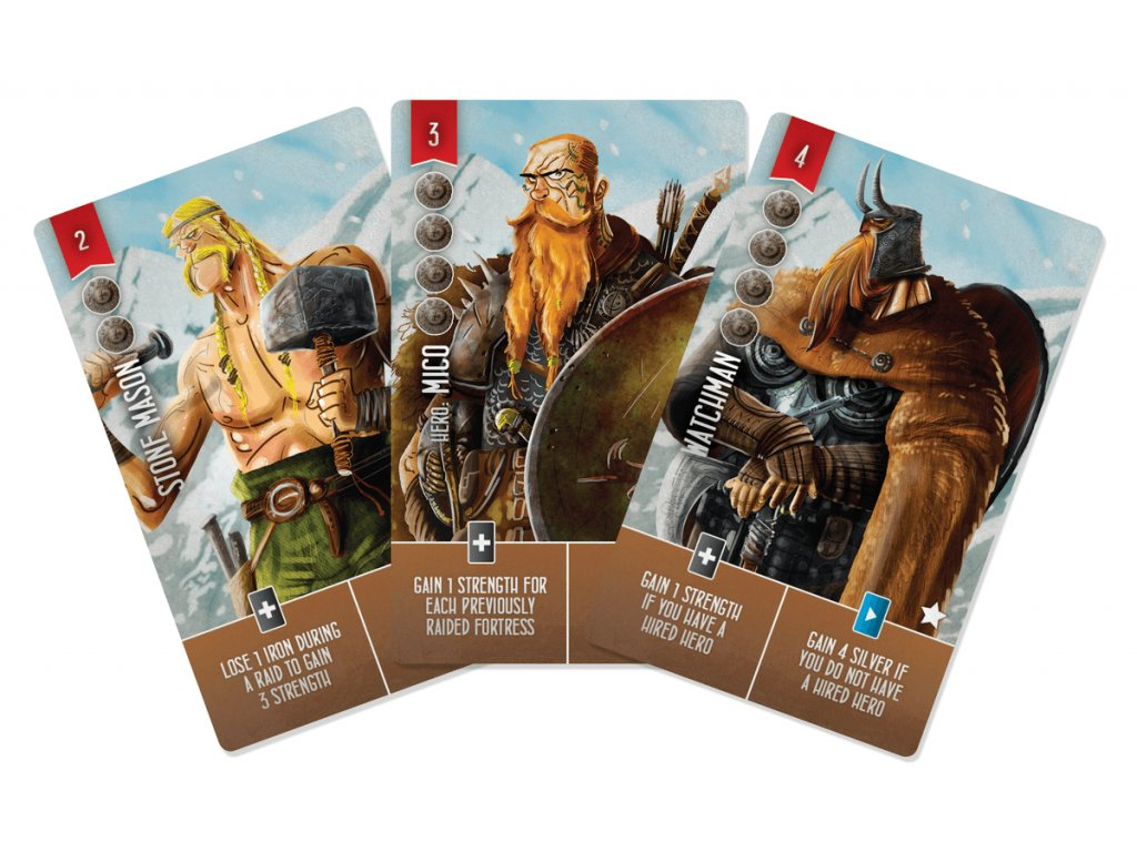 Raiders of the North Sea: The Mico 5 card promo pack  (5 promo karet)