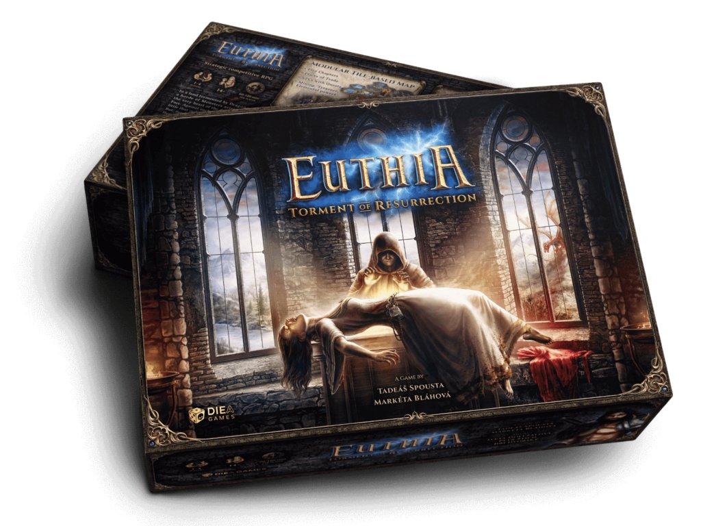 Euthia: Torment of Resurrection - Kickstarter Core box miniature pledge EN