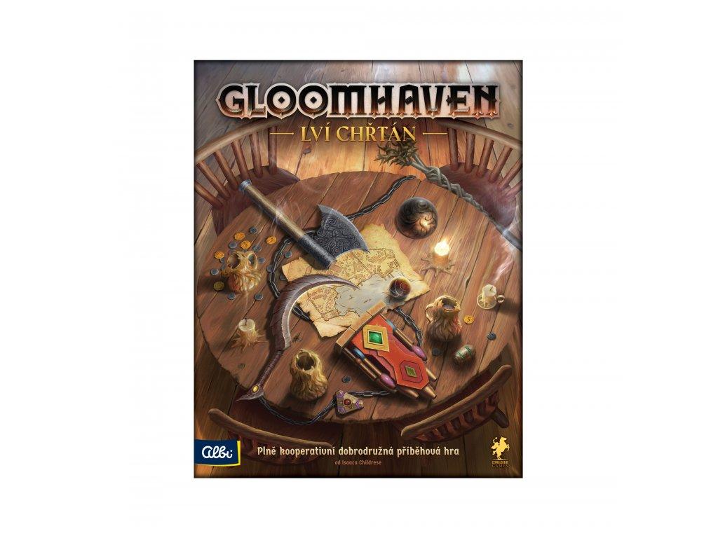 Gloomhaven: Lví chřtán  (Gloomhaven: Jaws of the Lion)