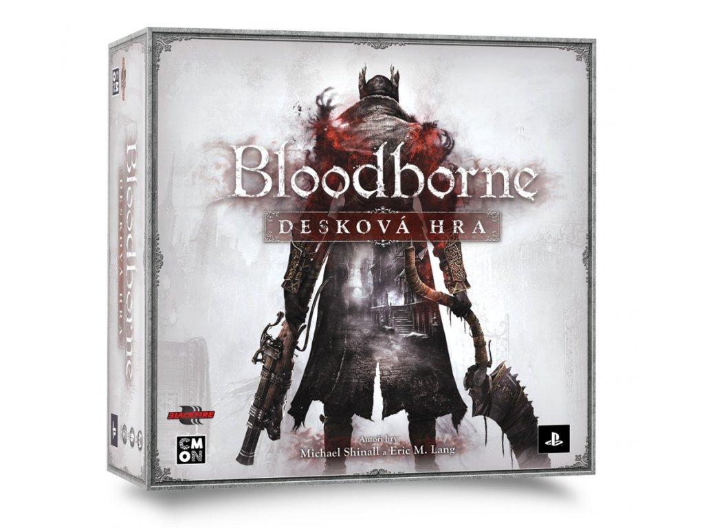 BLOODBORNE BG vizualizace