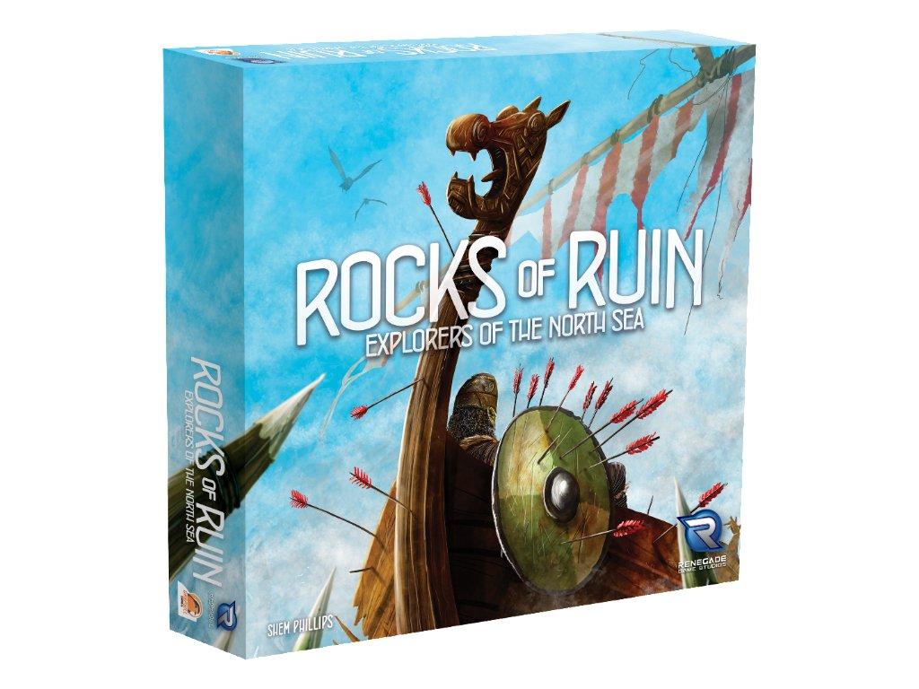Explorers of the North Sea: Rocks of Ruins  (rozšíření k základní hře)