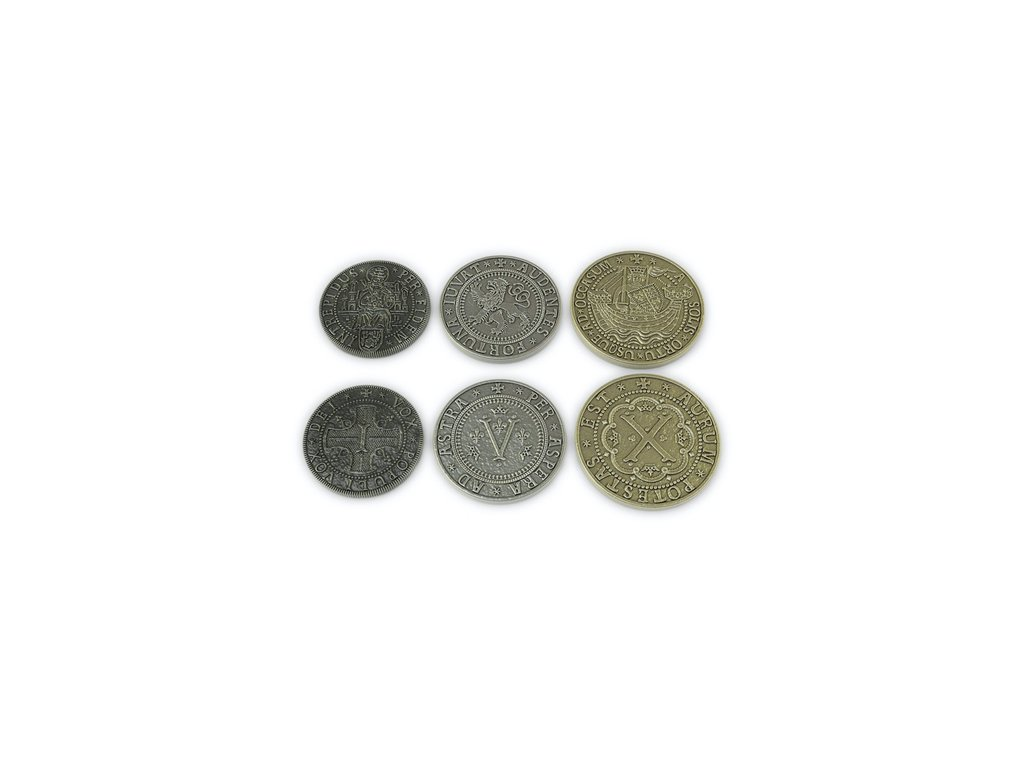 Europa Universalis The Price of Power Metal Coin Set[1]