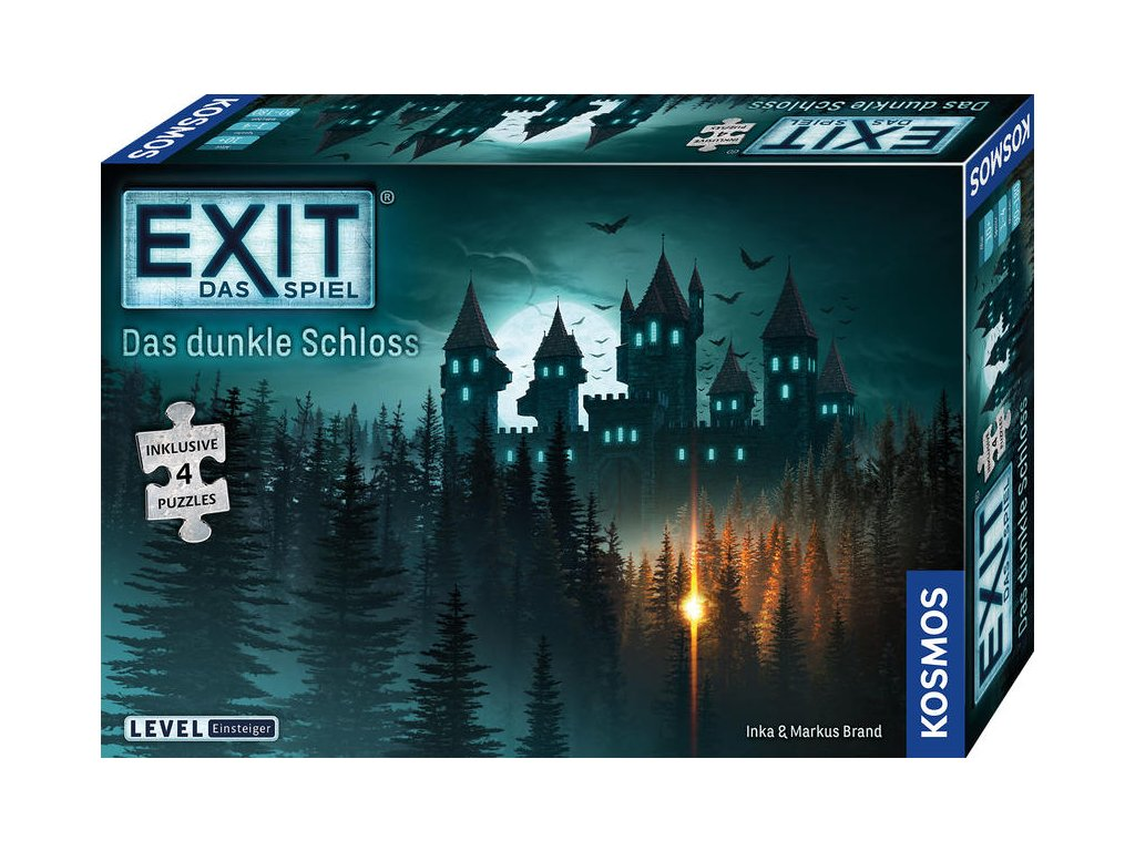 EXIT – Das Spiel + Puzzle: Das dunkle Schloss (Temný hrad)