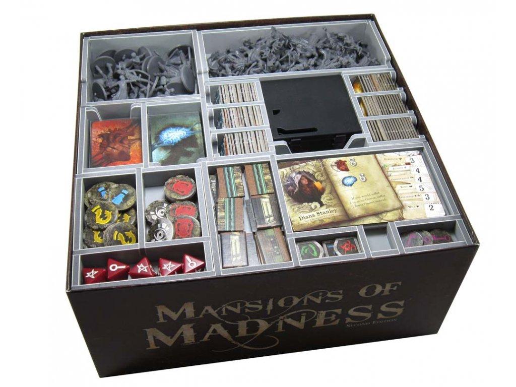 Panství hrůzy: Druhá edice Insert  MAN - Mansions of Madness: Second Edition Insert