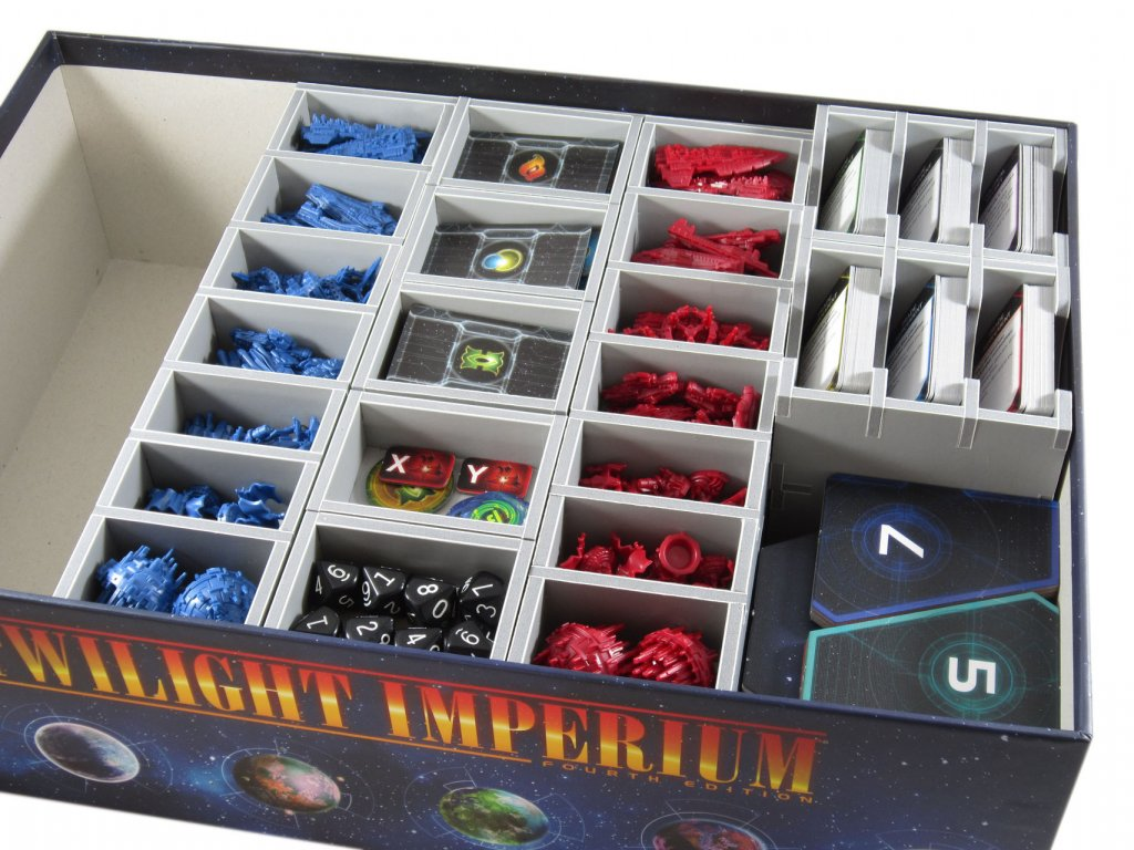 Twilight Imperium (Čtvrtá edice) Insert  - TI4 (Twilight Imperium 4th Edition Insert)