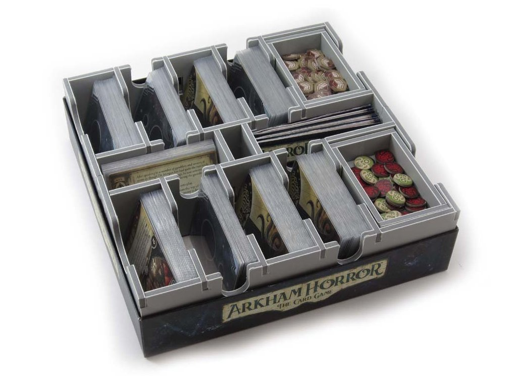 Living Card Games Medium Box Insert  - LCG2 (Kompatibilita s větším množstvím LCG her)