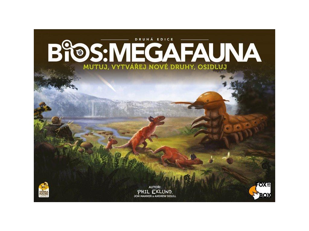 BIOS Megafauna Cover CZ