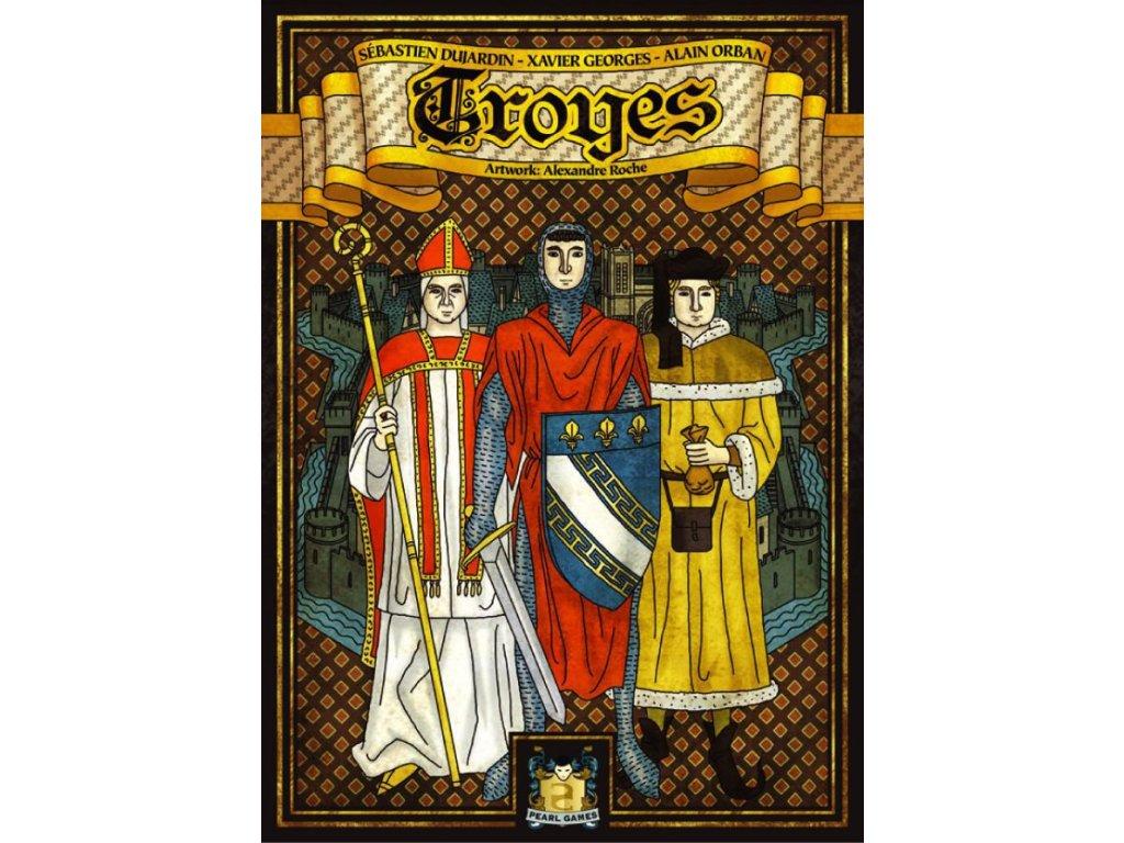 Troyes  (+ 4 promo karty aktivit)