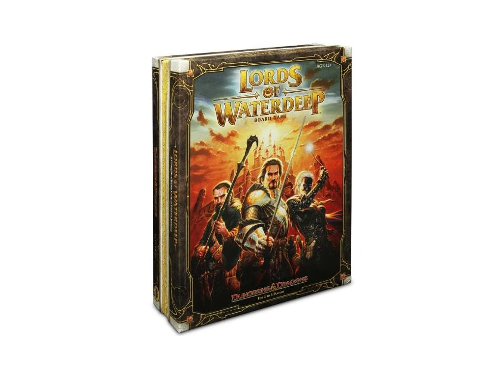 lords of waterdeep board game box cover grande