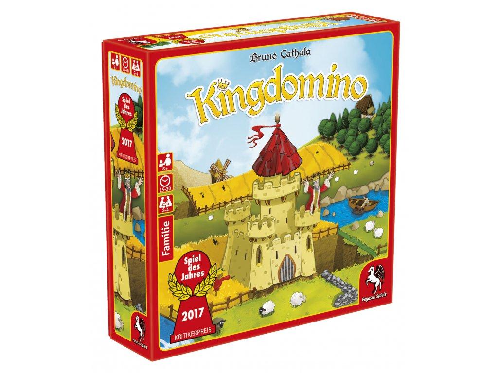 Kingdomino DE  (nové vydání s 3D věží)