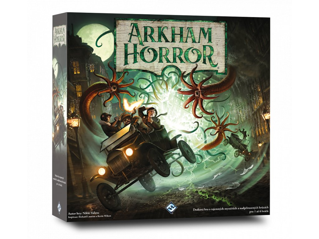 Arkham Horror 3rd vizualizace