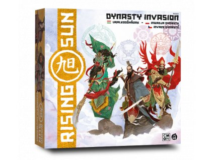 Rising Sun Dynasty Invasion box