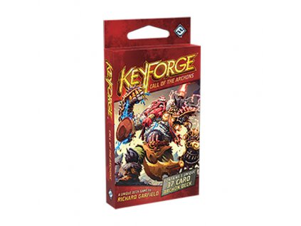 keyforge call of the archons card game archons deck 1