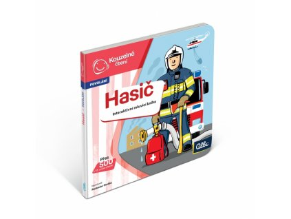 Minikniha povolání - hasič (Albi tužka)