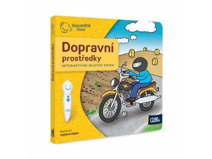 Kniha Dopravní prostředky (Albi tužka)
