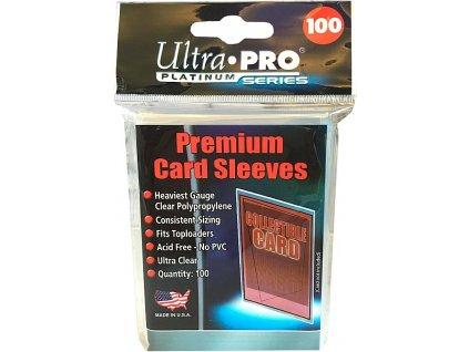 Obaly na karty Premium (63,5 x 89 mm) - 100 ks
