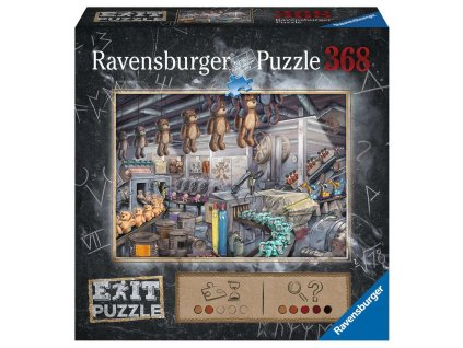 EXiT Puzzle: In der Spielzeugfabrig (V továrně na hračky)
