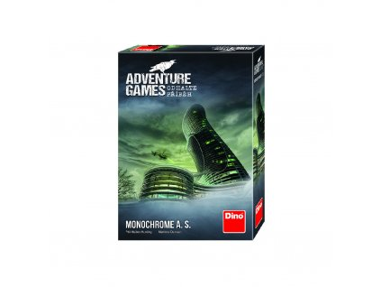 ADVENTURE GAMES: Monochrome A. S.