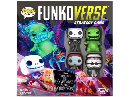 Funkoverse Strategy Game: Nightmare Before Christmas