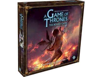A Game Of Thrones The Board  Game: Mother of Dragons