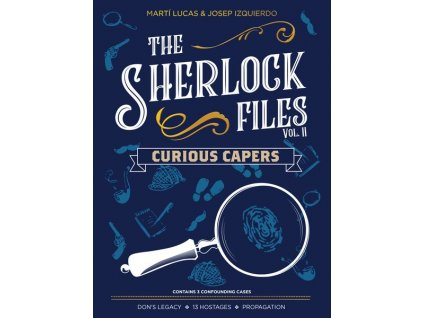 Sherlock Files Vol 2 Curious Capers