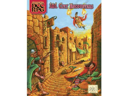 101 City Encounters (Dungeon Crawl Classics) - EN