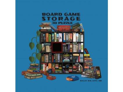 Storage 3D Puzzle azurová 100