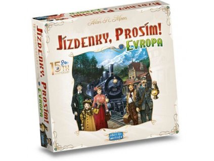 Ticket to Ride: Europe - 15th Anniversary EN