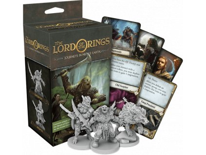 The Lord of the Rings: Journeys in Middle-Earth Villains of Eriador Expansion  (ENG)