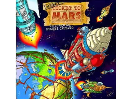 Ticket to Mars  (ENG/DE/FR/SP)