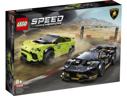 LEGO Lamborghini Urus ST-X & Lamborghini Huracán Super Trofeo EVO 76899