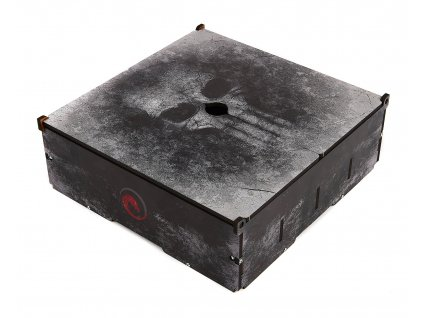 Card Storage Case: Old Skull
