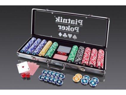 Poker Set 500 High Gloss Chips
