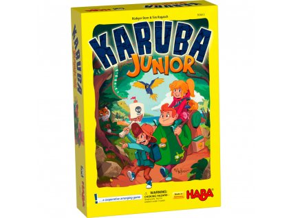 303613 Haba Spolocenska hra Poklad Karuba junior 01