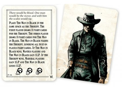 "Western Legends: Promo ""Man in Black Deck"""