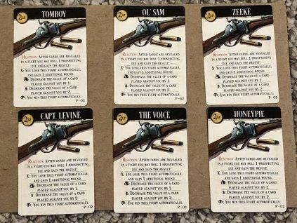 """Western Legends: Promo """"The Carbine Cards"""""""