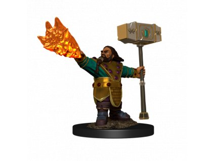 D&D Icons of the Realms Premium Figures: Dwarf Cleric Male