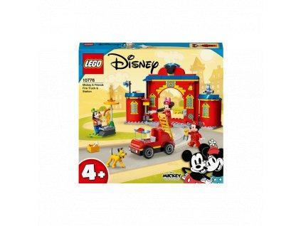 LEGO Hasičská stanice a auto Mickeyho a přátel 10776