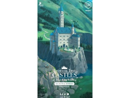 Between Two Castles of Mad King Ludwig: Secrets & Soirees Expansion